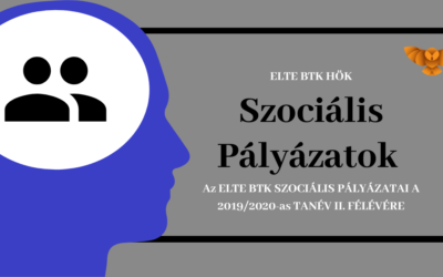Szociális pályázatok 2019/ 2020. II. félév
