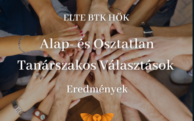 ELTE BTK HÖK Alap- és Osztatlan Tanárszakos Választások – Eredmények