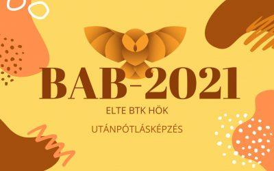 BAB 2021 – ELTE BTK HÖK Utánpótlásképzés