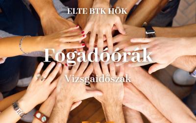 ELTE BTK HÖK Fogadóórák